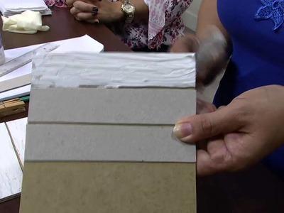 Mulher.com 23.02.2015 Célia Bonomi - Ripado com textura Parte 1.2