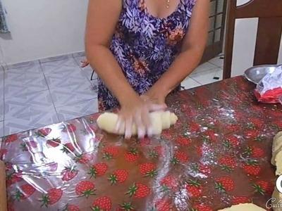 Pão de Mandioca - Culinária da Diná