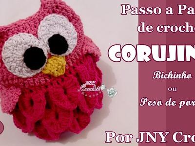PAP Coruja de crochê por JNY Crochê