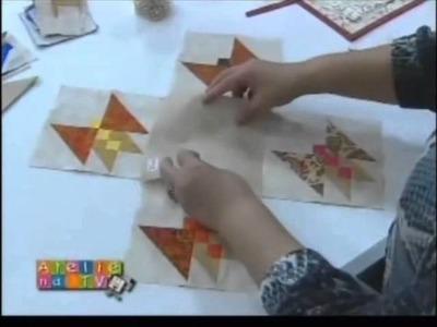 Patchwork Ana Cosentino: Painel de Borboletas