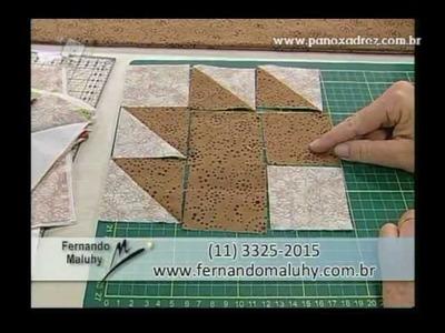 Tia Lili na TV (12.05.12): Manta com Folhas de Outono (Maple Leaf)