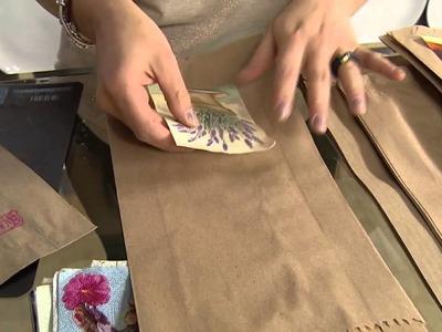 Transforme um saco de pão em uma linda embalagem!