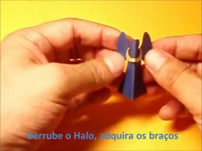 Anjo de halo―Halo Angel. Portuguese ver.