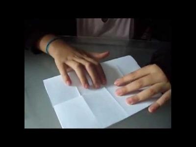 Como fazer peças de origami 3D