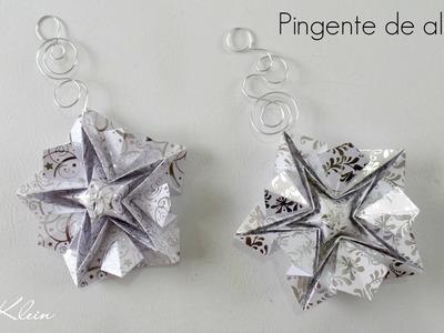 Como fazer pingente arabescos em alumínio