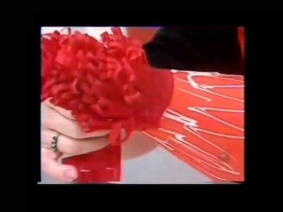 """NATAL - """"Árvore de Natal com papel crepom"""" - Programa """"Note e Anote"""" - TV Record"""
