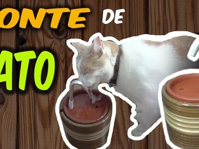 DIY: Como fazer um bebedouro para gatos com fonte ✤ Ajuda o gato beber mais água