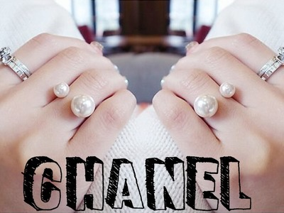 DIY: Do it yourself - Como Fazer Anel de Pérolas da CHANEL