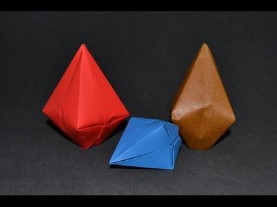 Origami: Balão de São João