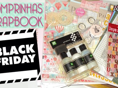 Black Friday Comprinhas Scrapbook - Scrapbook by Tamy