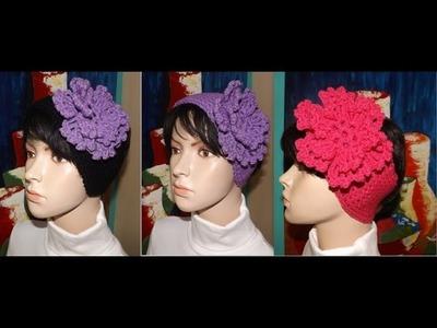 Crochet Cintillo, Vinchas O Diademas.