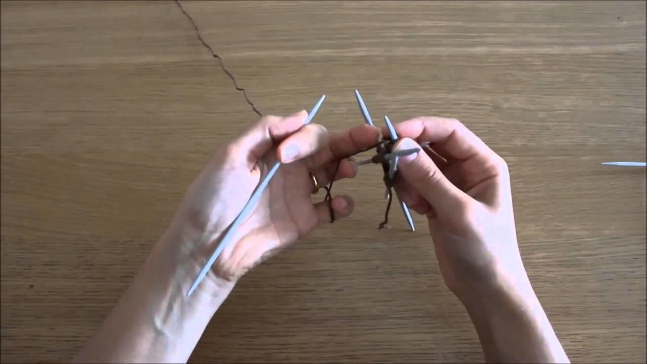 Curso de trico - Querido tricot: tricotar com 5 agulhas (knit with double pinted needles)