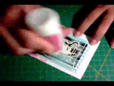Momentos Coloridos Scrapbooking - Aula 1 bloquinho -- parte 1