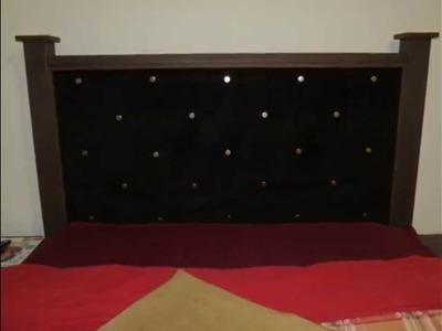 DIY Cabecera forrada para cama