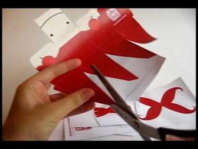 Papercraft do Sashimi-kun
