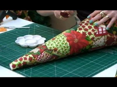 Arvore de Natal Patchwork sem costura