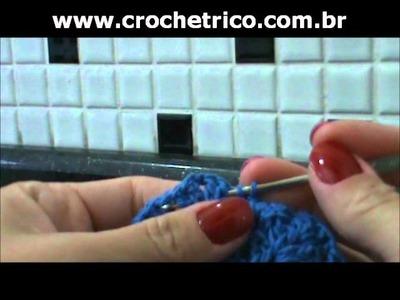 Crochet - Chapéu Infantil - Parte 02.03