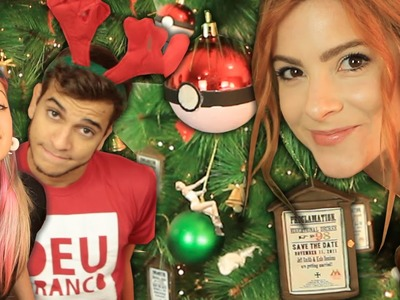 DIY :: Árvore Geek! - Especial de Natal ♥ ♥ com Victor Lamoglia e PLanducci