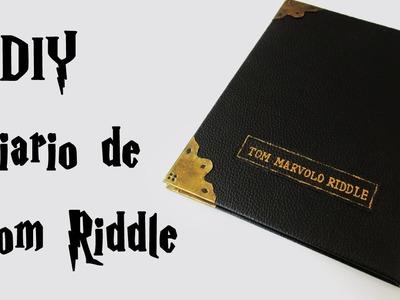 DIY: Como Fazer o DIÁRIO DE TOM RIDDLE (Harry Potter Tutorial) | Ideias Personalizadas - DIY