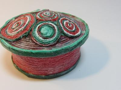 Tutorial: Spiral box. Cajita espiral.