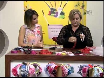 Mulher.com 29.11.2012 Regiane Tartari - Tiaras encapadas