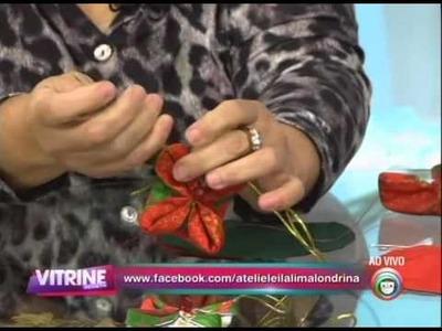 Artesanato: Enfeite de natal com mil e uma utilidades (29.10)