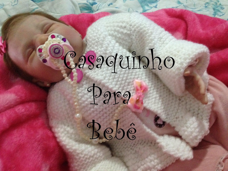 Casaquinho Para Bebê.Cardigan for baby.Cardigan para el bebé