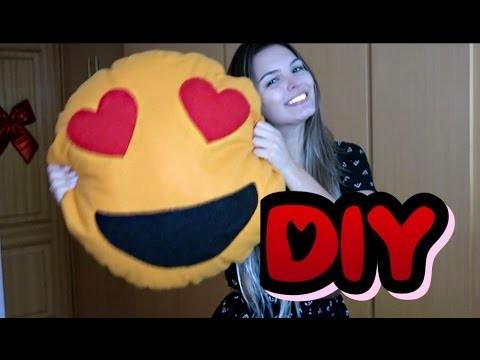 DIY | Como fazer Almofada Emoji WhatsApp | Desafio 3 | Méliuz | Faça você mesma | Nathalia Masa