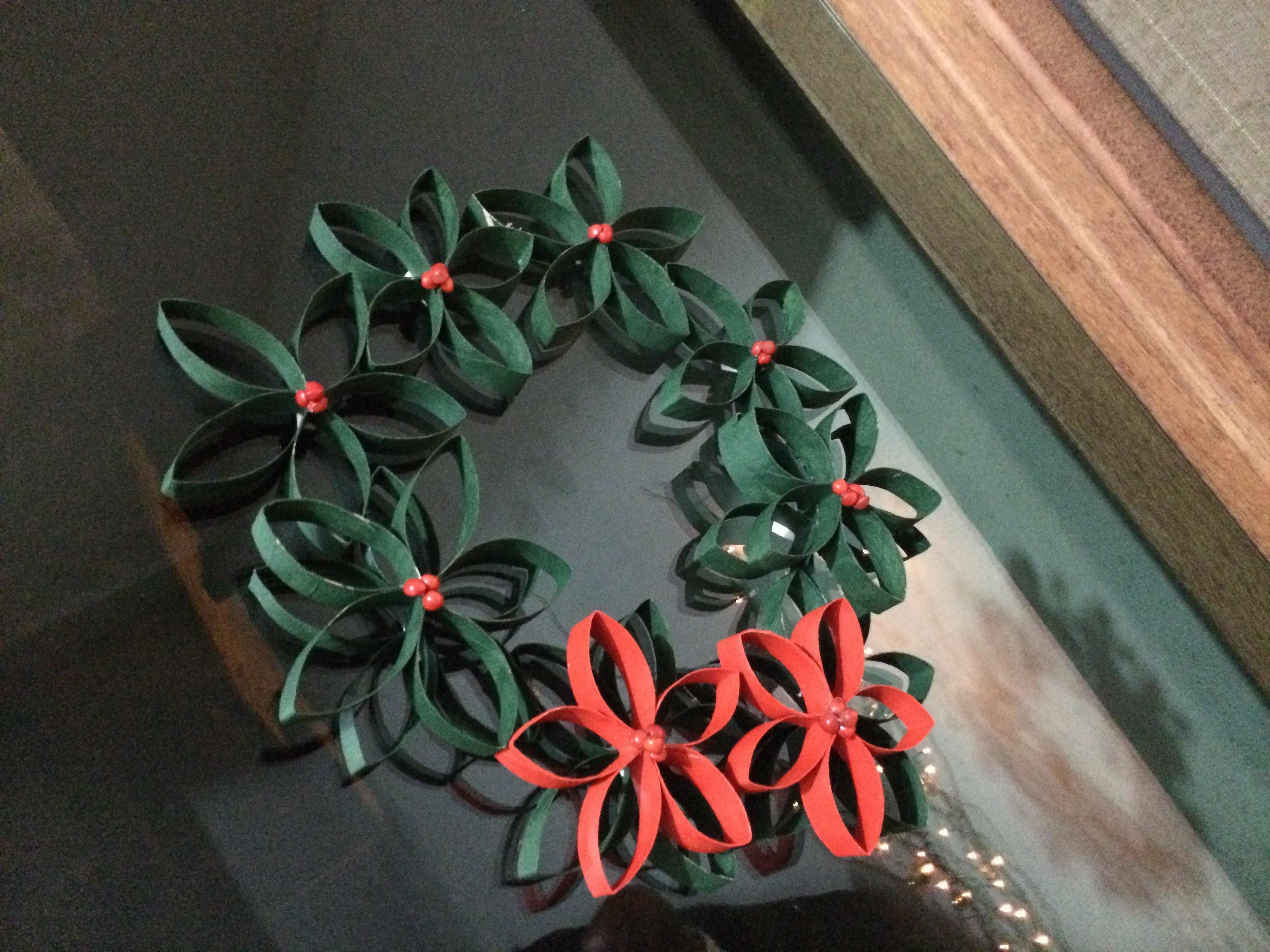 DIY - Como Fazer Guirlanda de Natal em Casa  gastando pouco - christmas