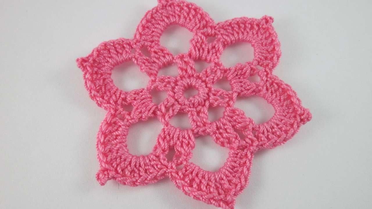 Faça Um Lindo Motivo Floral de Crochê - Faça Você Mesmo Artesanato - Guidecentral