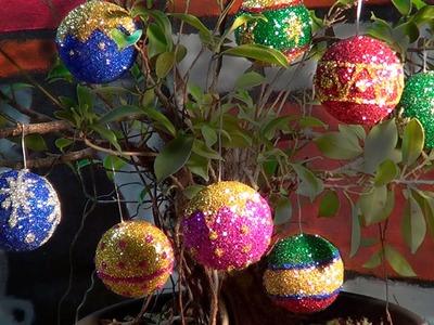 Bolas de natal - Christmas balls - Esferas Navidad
