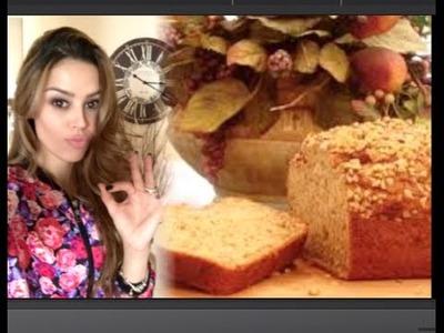 Pão de banana de proteina, 100 calorias e zero acucar