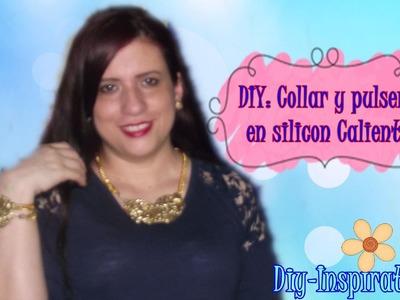 DIY COLLAR CON SILICON CALIENTE