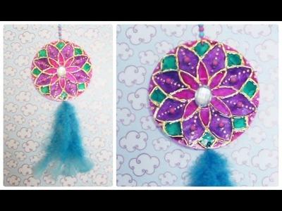 DIY: Mandala feita com CD's velhos