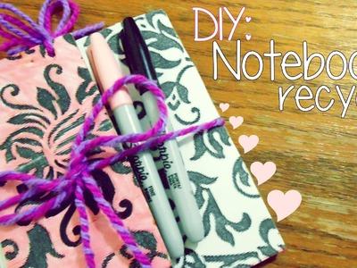 DIY: NOTEBOOK RECYCLE ♥ :)