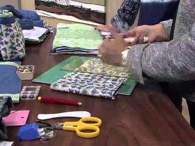 Mulher.com 19.03.2013 - Ana Consentino Organizador de Bolsa  parte 1