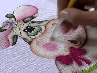 Mulher.com 26.08.2013 Gislaine Mara - Pintura Country no Pano de Prato P 2.2
