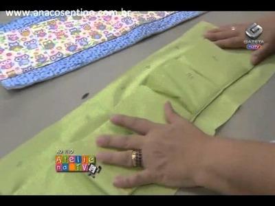Patchwork Ana Cosentino: Organizador de Bolsas (Ateliê na TV 04.03.2013)
