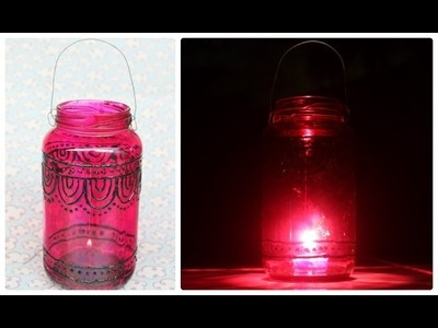DIY: Lanterna Criativa com detalhes etinico