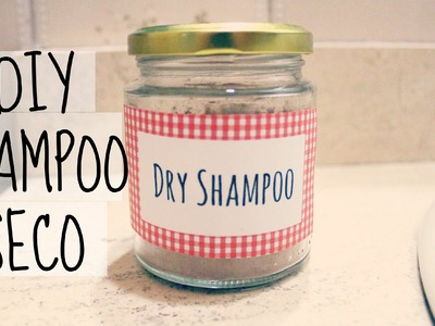 SHAMPOO EN SECO CASERO. DRY SHAMPOO DIY