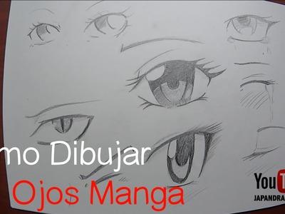 Como Dibujar Ojos Manga para Principiantes
