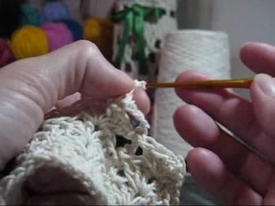 Crochê - Lustre Endurecido - Parte 02.03