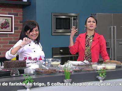 Mulher.com 06.10.2014 - Bolo cake pops por Maria do Socorro - Parte 1