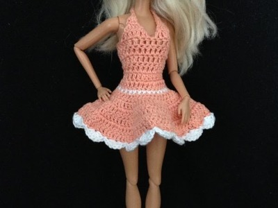 Croche.Vestidinho para barbie 2.2 - LiiArt