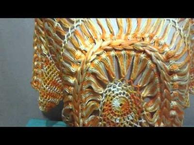 Túnica Mandala parte 4 (Crochê Pai D'égua)