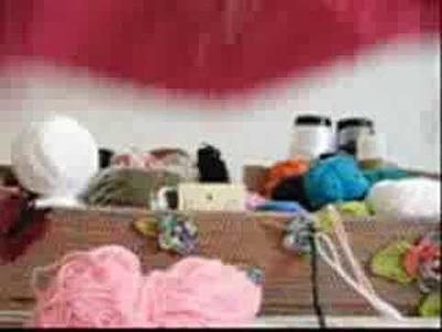 Crochê Tunisiano - Cachecol Infantil - Modelo 001 - Parte II