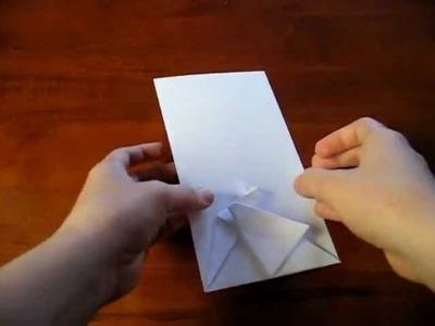 Origami - Cartão com grou (tsuru) - 2