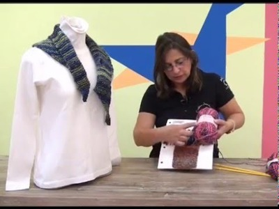 Gola Katia em trico com Cisne Mona com Cristina Amaduro