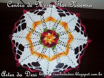 Passo a Passo Centro de Mesa Flor Noemia - Artes da Desi - By Desi Winters