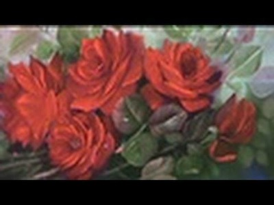 Pintando rosas vermelhas